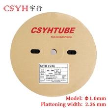 цена на 1Meter/lot  1MM Inner Diameter  Heat shrink tube heat shrink tubing cable sleeves,seven color CSYH