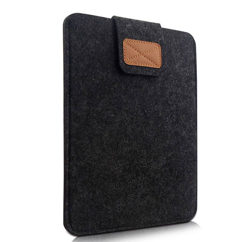 Wool Portable Sleeve Pouch For Ipad 1 2 3 4 5 6 Air1 2 Mini 4 5 Pro 9.7 10.5 11 12.9 2015 2016 2017 2018 Tablet Case Soft Bag