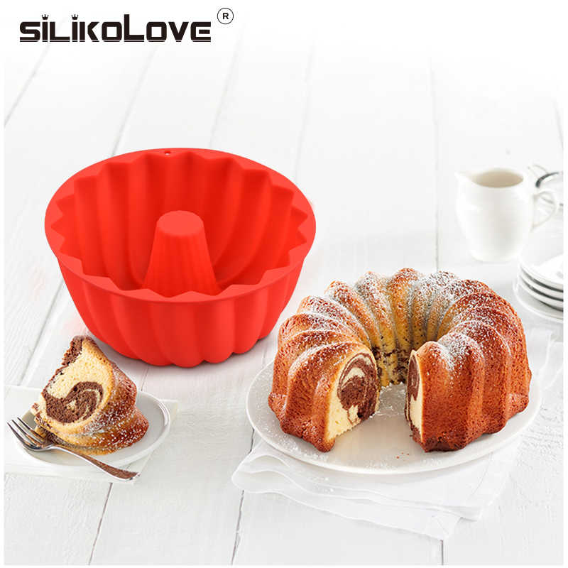 SILIKOLOVE Mini Cake Molds Silicone Molds for Baking Dishes Bread Pies Loaf Nonstick Silicone Mould Bakeware Trays Pans