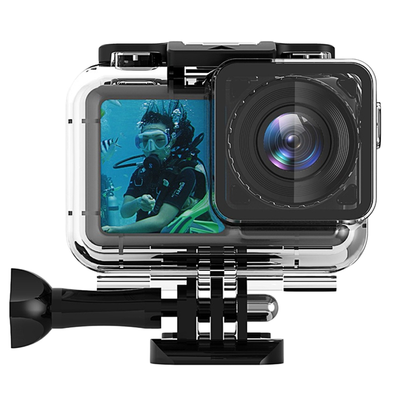 61 M Meters Waterproof Case For Dji Osmo Action Camera Accessories Housing Case Diving Protective Housing Underwater Shell