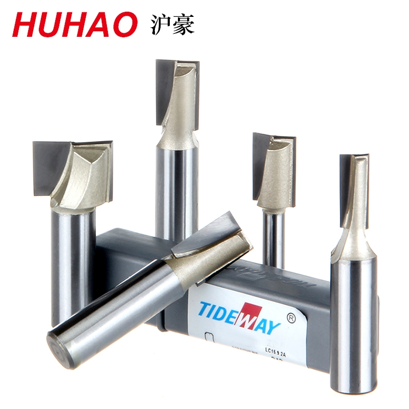 Straight Router Bits Slotted Knife Metric Flute Straight Bit - 1/4*6.47mm - 1/4 Shank - Tideway 3106 bestlead chinese peony pattern zirconia ceramics 4 6 knife chopping knife peeler holder