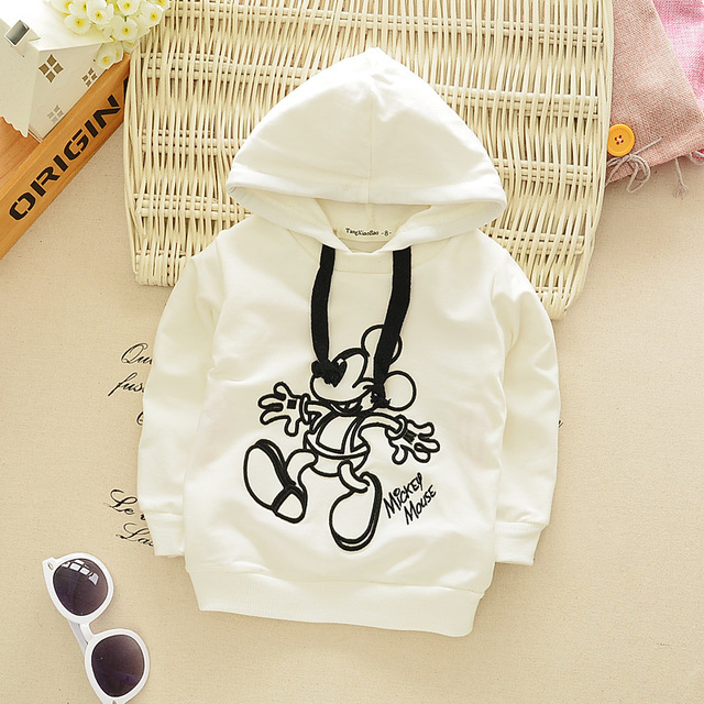 Children's clothes 2016 autumn clothing children 0-2 years boys bottoming shirt T-shirt infant cotton hooded sweater Sweatshirts