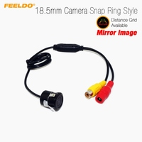 Car 18 5mm Snap Ring Car Mirror Image RCA Camera J 2506