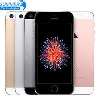 ปลดล็อคเดิมA Pple iPhone SEโทรศัพท์มือถือ4.0 ''A9 iOS 9 Dual Core 2กิกะไบต์RAM 16/64กิกะไบต์รอมลายนิ้วมือ4กรัมLTEมาร์ทโฟน