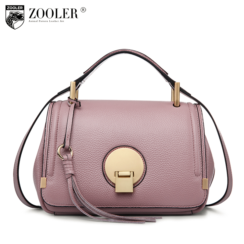 ФОТО presell-Zooler woman genuine leather bag hot designer handbags women famous brands shoulder bag chains bolsa feminina#1125