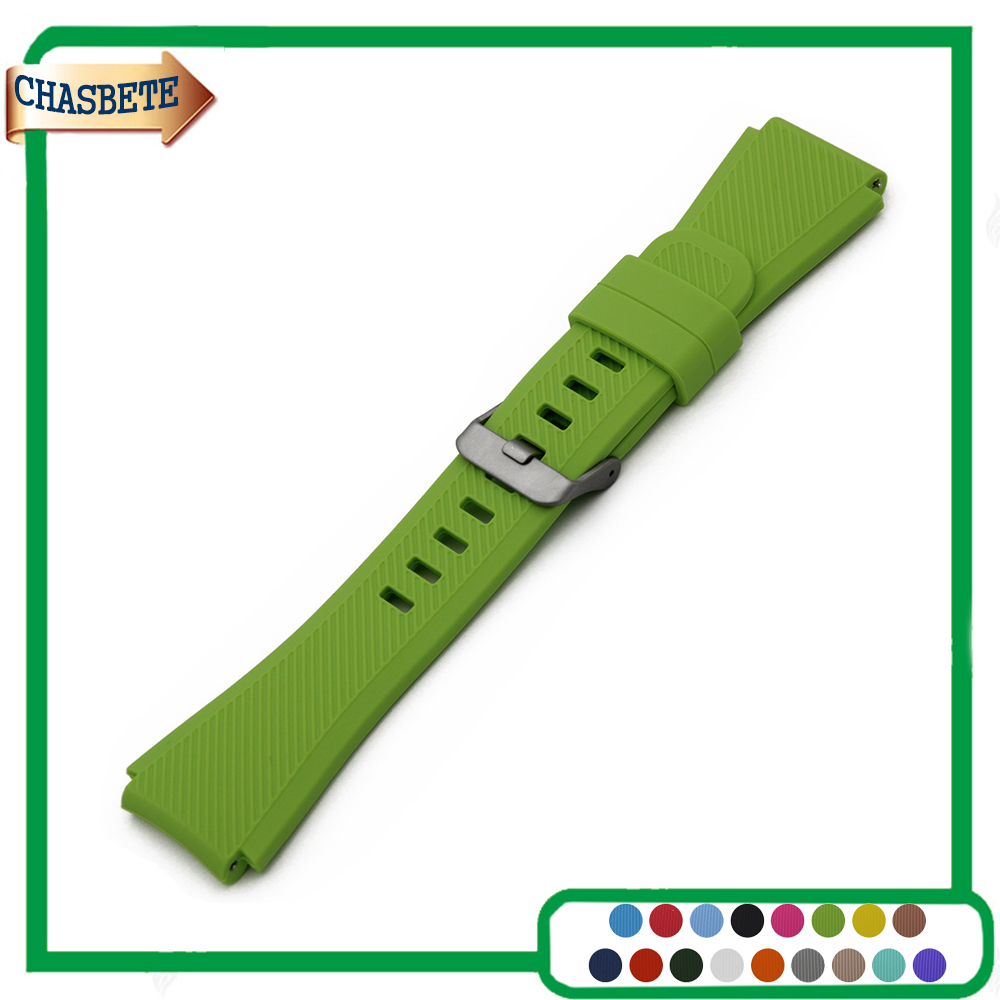 Silicone Rubber Watch Band for Timex Weekender Expedition