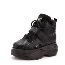 New Super fire fashion retro high-top Height increasing wome