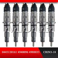 diesel injector CRIN CR / IFL26 / ZIRIS30S cr fuel injector 0445120161 high pressure fuel injector 0445 120 161 Fuel Injector     -