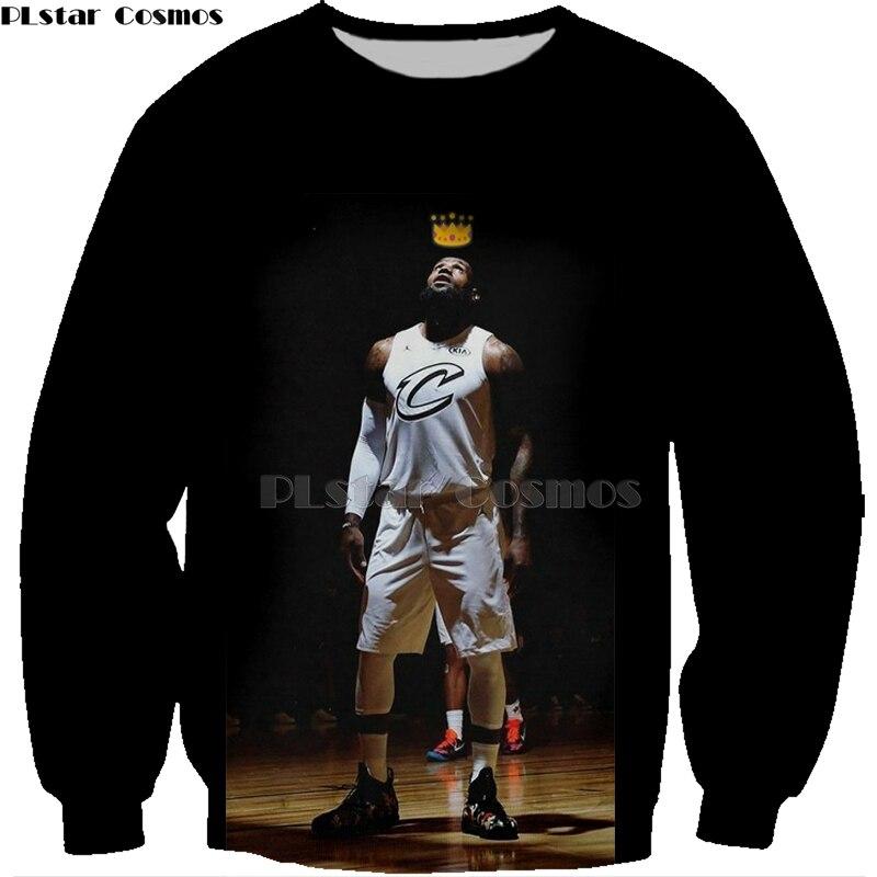 5059a26316f5 PLstar Cosmos New Fashion basketball Hoodies celebrity Stephen Curry LeBron  James Print 3d Sweatshirts shirt