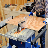 Woodworking Table Panel Saw 2000W Dust Free Cutting Machine Mitre Saw Electric Circular Saw With Free Saw Blades M1H ZP 254C