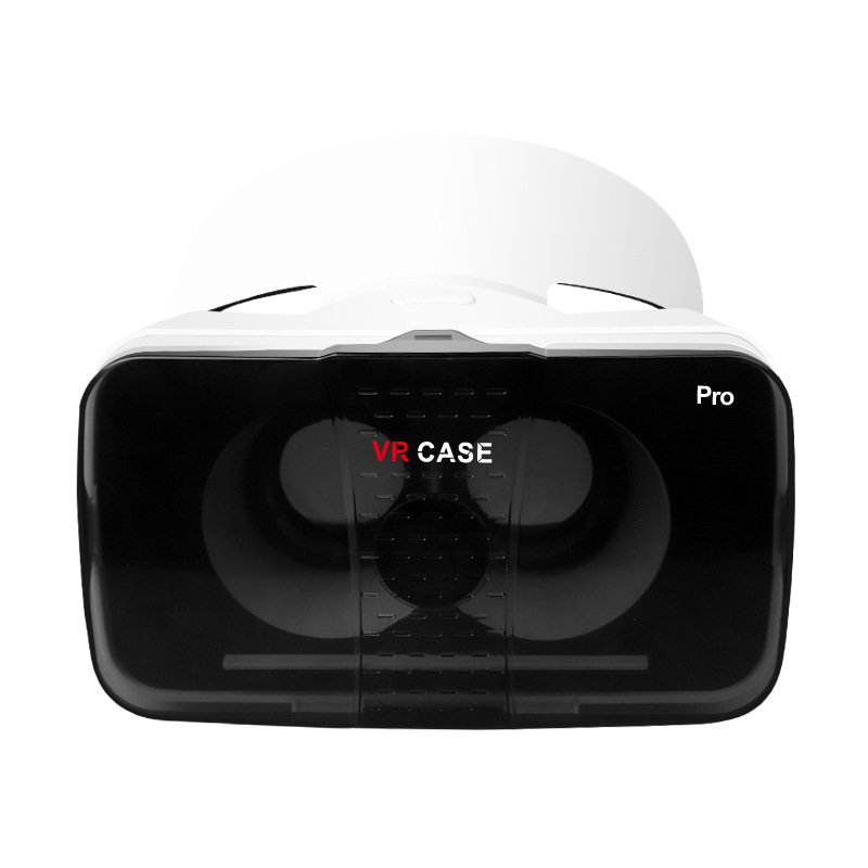 VR Plus VRBOX Headset Virtual Reality Helmet 3D Glasses Google Cardboard HD Coating Glass Lenses For Smartphone