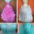 Novo Estoque Organza Ruffled Frisado Pescoço Namorada Vestidos Quinceanera Rosa 2017 Vestidos de Baile de formatura Dress15 Anos Vestidos De 15 Años