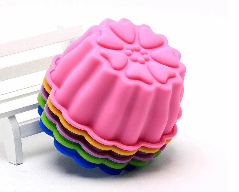 Carre de rectangle de moule de sucette de muffin de bonbon de glace de chocol SC