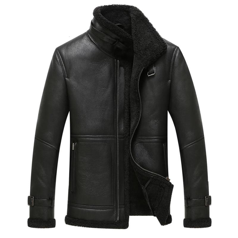 Popular Men Sheepskin Coats-Buy Cheap Men Sheepskin Coats lots ...