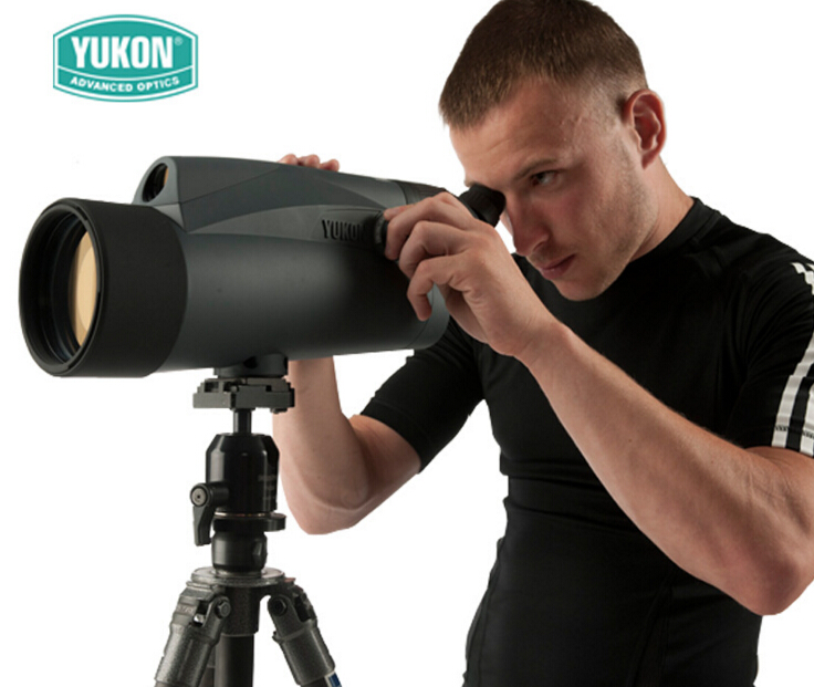 Original Yukon spotting scope kits 6-100x100 range spotting scope & table Tripod 100x magnification Bird spotting scope монокуляр hawke 16 48x68 endurance ed spotting scope