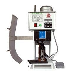 Полуавтоматическая ОБЖИМНАЯ машина 1,5 T компьютерная машина для зачистки с вертикальной горизонтальной одной зерновой пресс-формы и резак