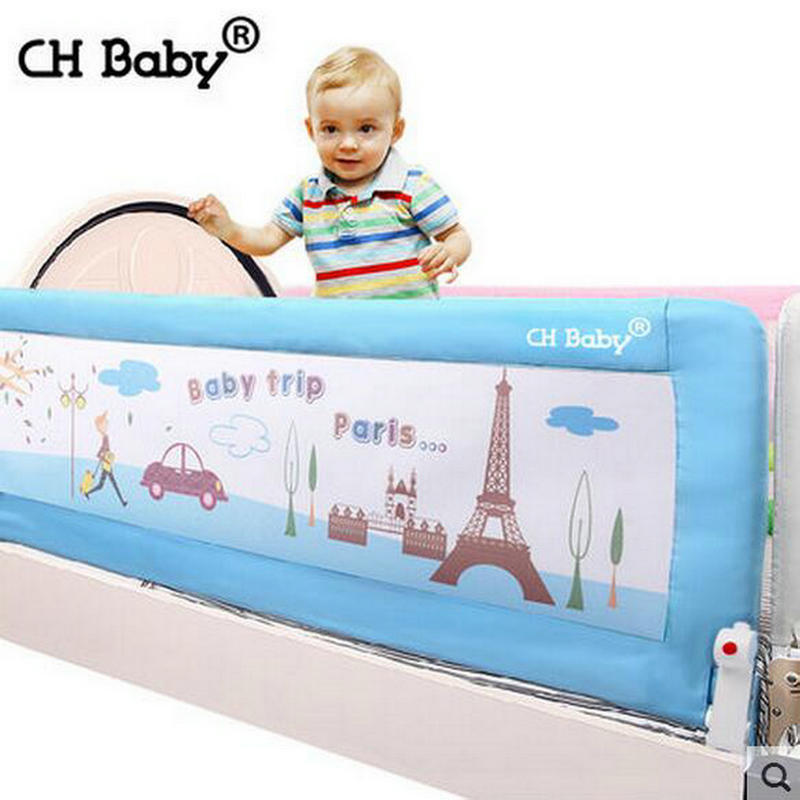 CH Baby 64cm Height Bed Rail Steel Frame Child Safety Barrier For General 180cm 150cm 200cm Available In Gates Doorways From Mother