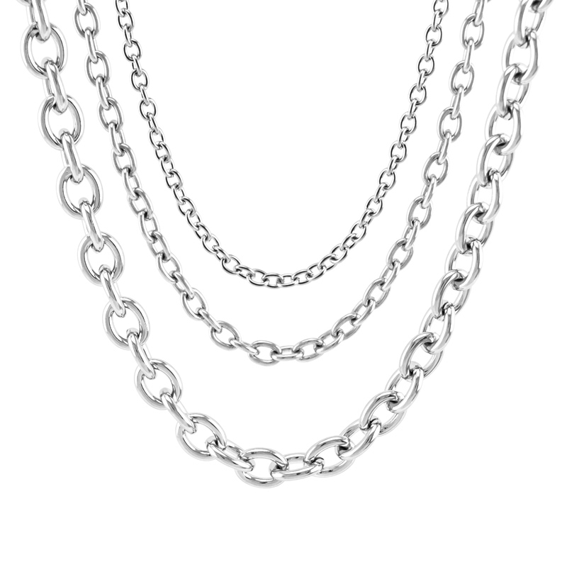 Silver Plated Double Clasp Necklace Bracelet Extender Chains x 4 with Free Charm