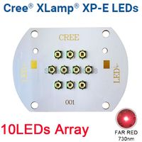 CREE XLamp XPE XP E 30W Far Red 730nm Plant Grow LED Light Diode Emitter Light 10LED Multi Chip Array for Indoor Garden Plant