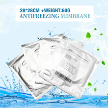 Anti freezing Membrane for fat therapy Cryo pads Antifreeze cooling Gel film 50 PCS per lot