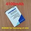 HSABAT 4100mAh B500BE B500AE Battery Use for Samsung GALAXY S4 Mini battery for Samsung i9190 i9192 i9195 i9198 battery