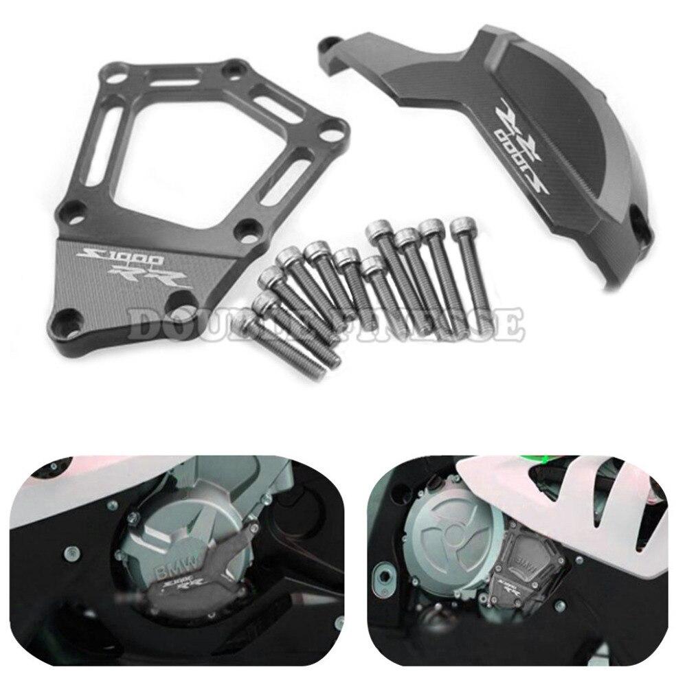 ФОТО motorcycle Engine Saver Stator CaseGuard Cover aluminum motorbike engine stator cover For BMW S1000RR HP4 K42 K46 2009-2015