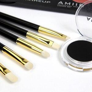 Image 4 - ENERGIE Merk 11 stks Professionele Makeup Brush Set Make Up Borstels Synthetisch Haar Aluminium Beentje Hout Handvat Pincel Maquiagem