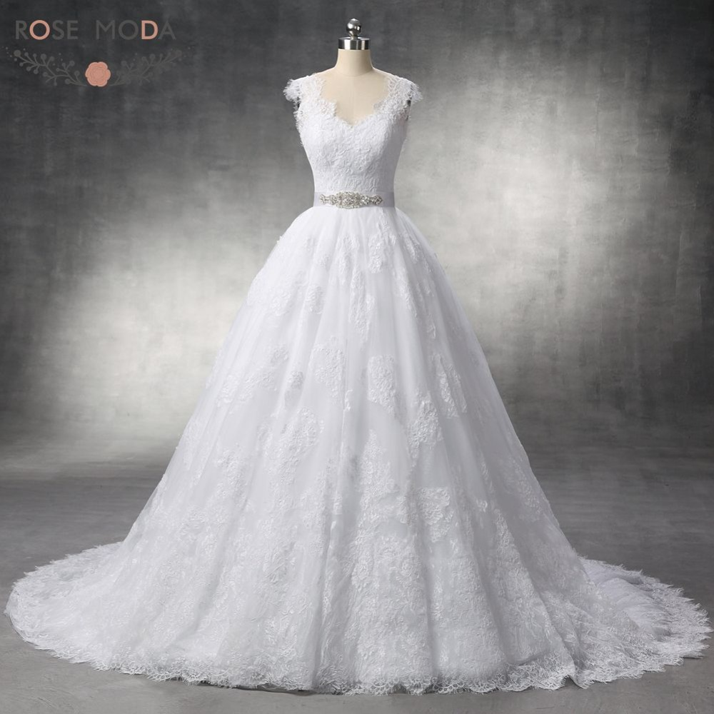Online get cheap french lace wedding gowns for French lace wedding dress
