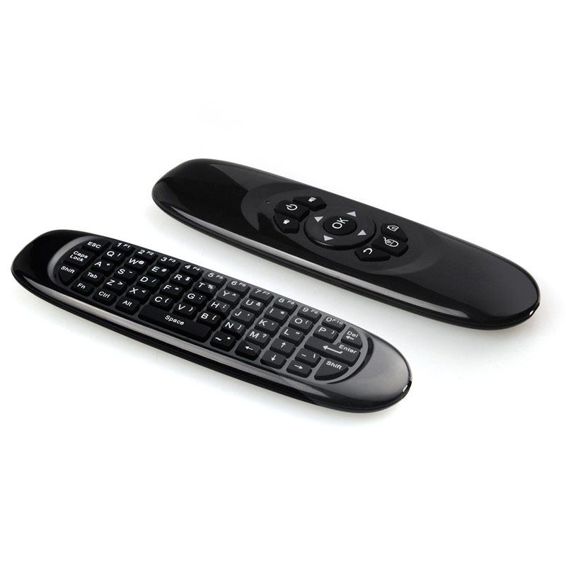 Hot 3D Remote Keyboard Air Mouse 2.4GHz Wireless Gaming Gyroscope Multi-Function Mini Fl ...