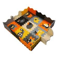 mei qi cool Baby floor mats EVA Animals floor pad foam crawling mat kids play mats