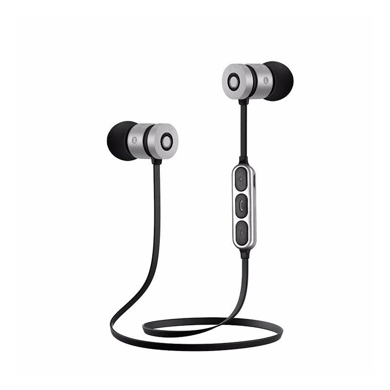 Magnetic HIFI Sport Bluetooth Headphone with Mic Wireless Headphones Earphones In Ear Auriculares Audifonos Handsfree Earphone 6