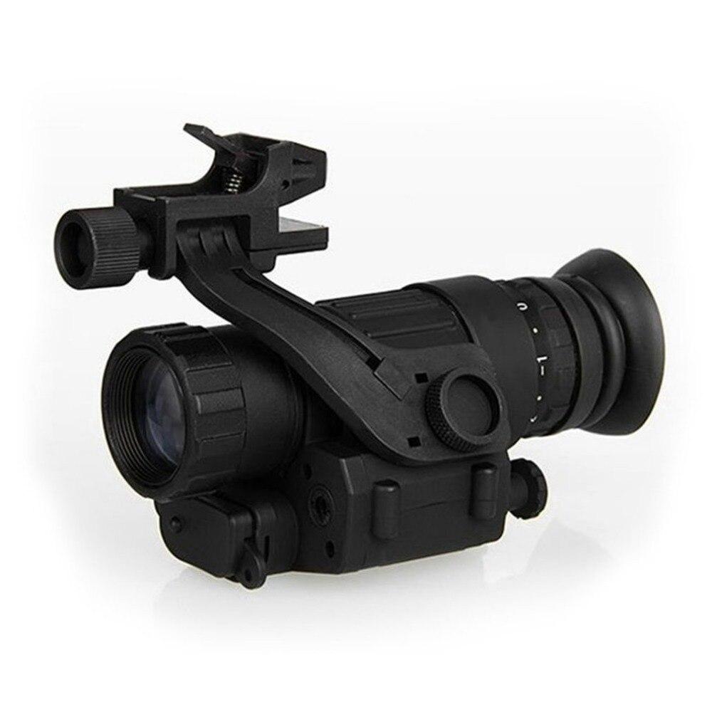Dispositivo di caccia Cannocchiale Di Visione Notturna Monoculare di Visione Notturna Impermeabile Occhiali PVS-14 Digitale IR di Illuminazione Per Casco Nuovo
