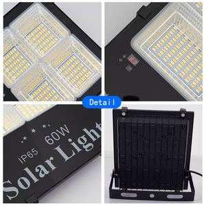 Image 3 - WARM/White Dimmable กลางแจ้งพลังงานแสงอาทิตย์ Floodlight กันน้ำ Solar LED Street Light พลังงานแสงอาทิตย์ Spotlight LED Reflector สำหรับ Garden