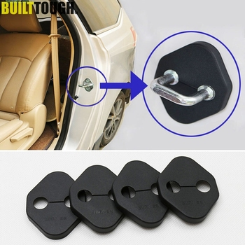Accessories Fit For Toyota Corolla Altis Camry Rav4 2013 Door Lock Buckle Catch Cover Case Cap Anti Rust Protective Pad 4pcs image