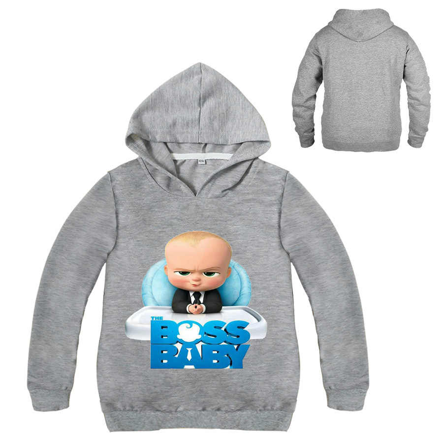 9248f4f6aaa1 ... 2-12Years Boss Baby Birthday Gift Kids Boys Sweatshirts Girls Hoodies  Teenagers Pullover Tops Children