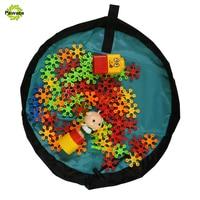 Pawaca New Portable Nylon Storage Bag Kids Toy 1 Pcs Play Mat Bin Box 150cm 3