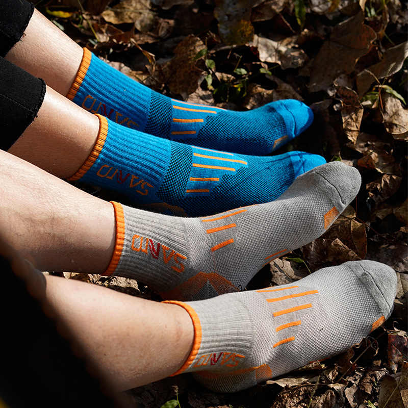 Olahraga Yoga Kaus Kaki Basket Trekking Lari Kaus Kaki Bernapas Tahan Lama Calcetines Ciclismo Hombre Wanita Bersepeda Kaus Kaki Setinggi Lutut