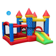 jumping slides HOT trampoline big inflatable indoor soft play equipment jumper indoor inflatable combo bouncers jumping castle