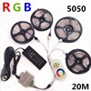 5M 15M 10M 20M 5050 LED Strip RGB 450LEDS IP20 Led Diode Tape RGB SMD 5050