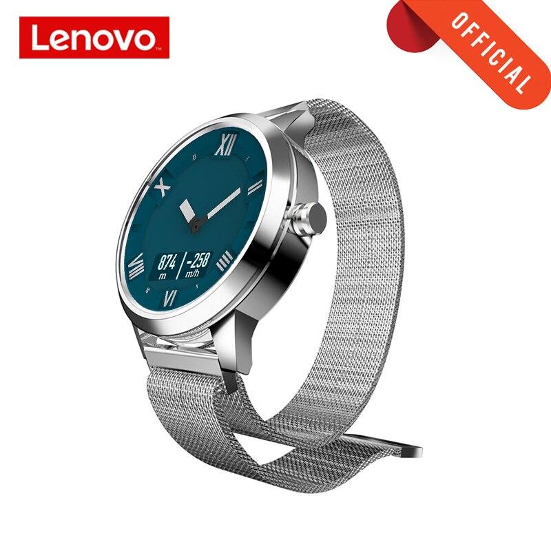 Lenovo Relógio X Plus Versão Tela OLED Smartwatch Relógio Inteligente Bluetooth 5.0 Esportes Dupla Camada de Silicone Strap Relógio de Pulso