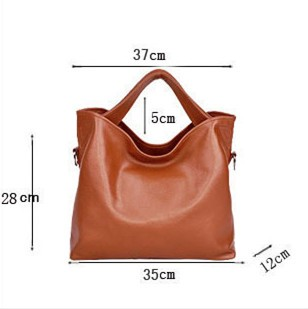 genuine leather bag female