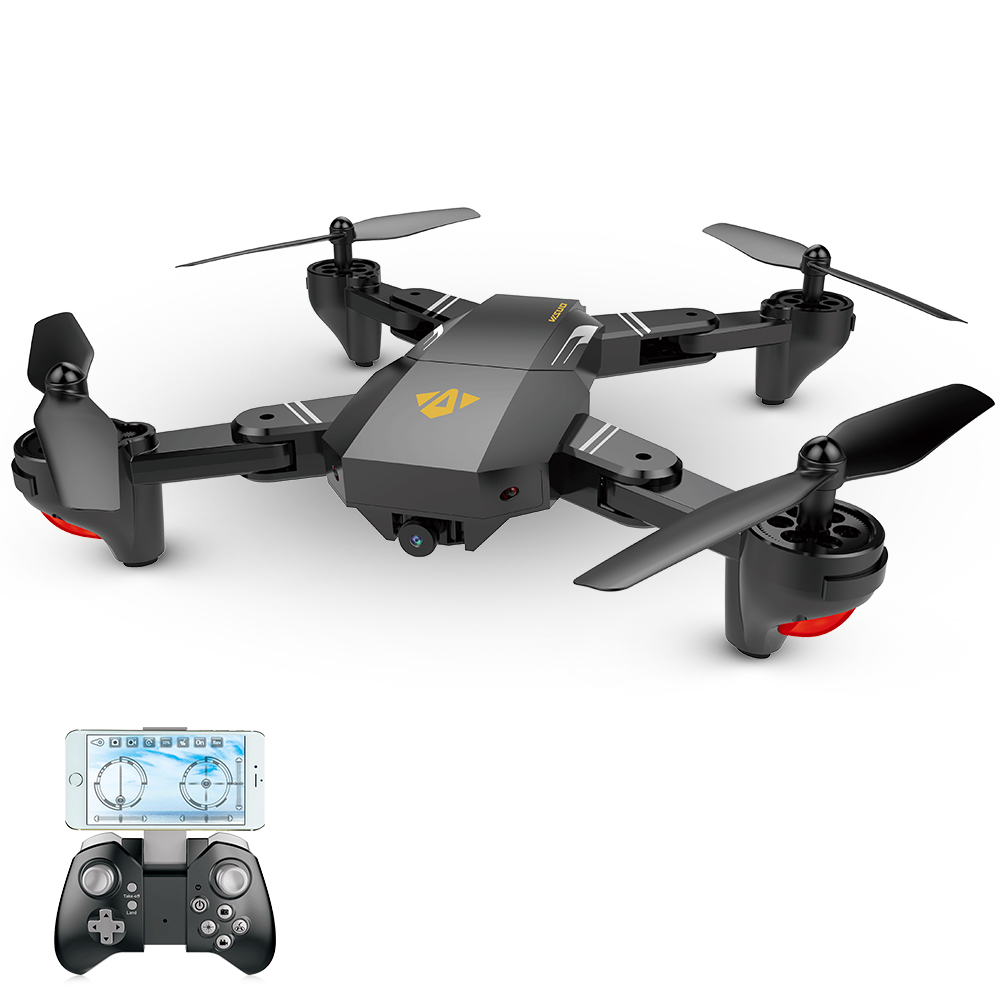 US in Stock for VISUO XS809HW Wifi FPV 2.0MP 720P 120 FOV Wide Angle Camera Drone Selfie Foldable RC Drone Quadcopter RTF Dron (12)