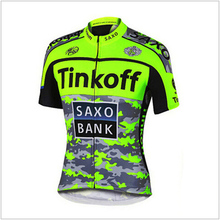 2016 Saxo Bank Quick-Dry Cycling Jersey Pro Team Tinkoff Bicycle Sports Maillot Ropa Ciclismo MTB Bike Racing Cycling Clothing