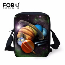 FORUDESIGNS Fancy Ladies Galaxy Star Messenger Bags Square S