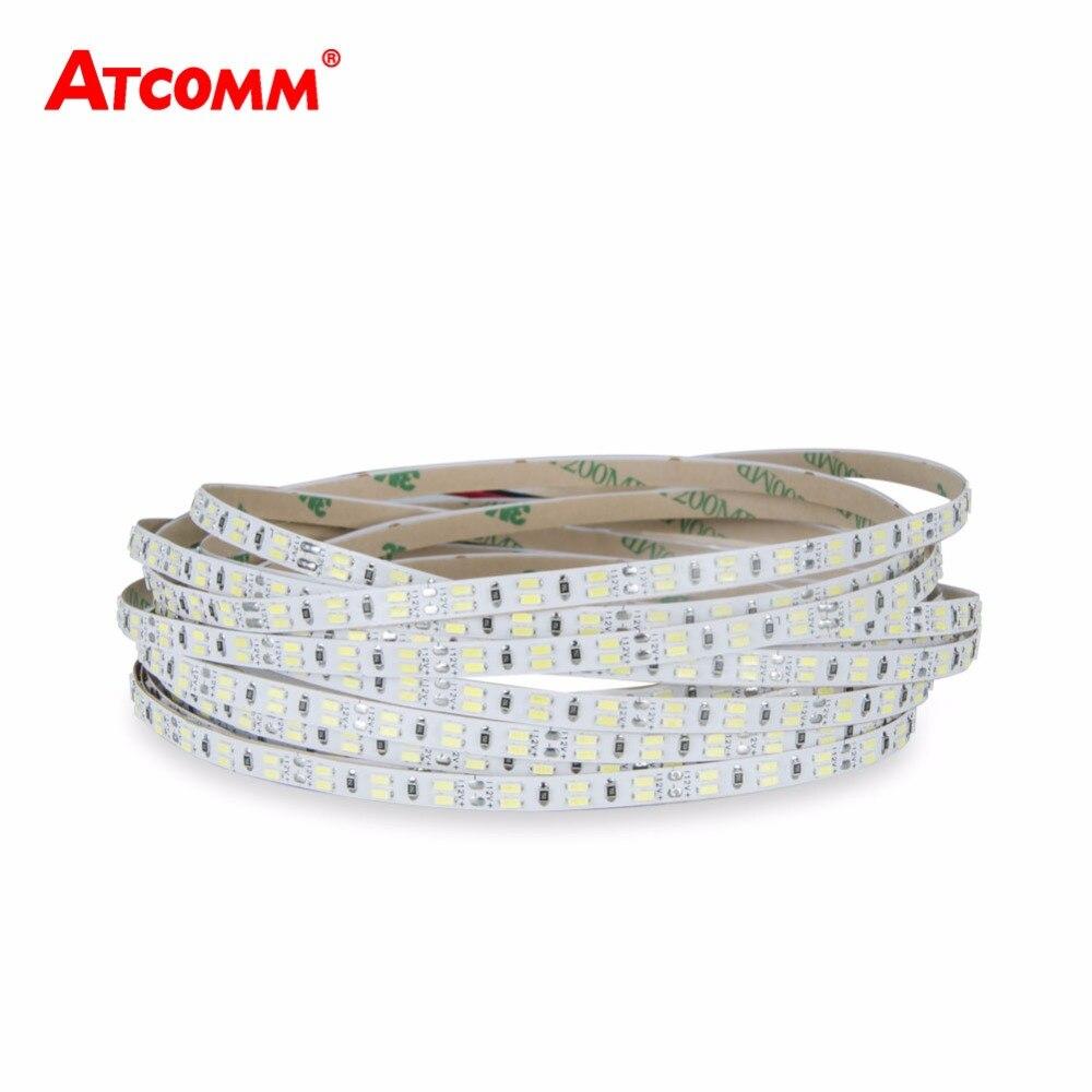3014 LED Strip Light DC 12V 5 Meters 216 LEDs/m High Lumen Flexible SMD 3014 1080 LEDs Diode Ribbon Strip Light Tape Lamp