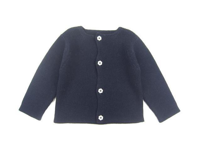 Jacadi 2016 niña niñas niños chaqueta de punto niña suéter otoño tire pour enfant fille meisjes chaleco trui 3