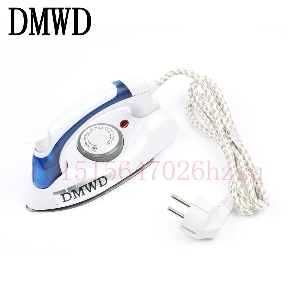 DMWD Collapsible Mini Electric Irons for household Travel Iron Handheld Non-stick 700W Steam Irons