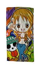 Free Shipping Anime Manga One Piece Bath Towel Face Towels 30x70cm Hand Towel 003