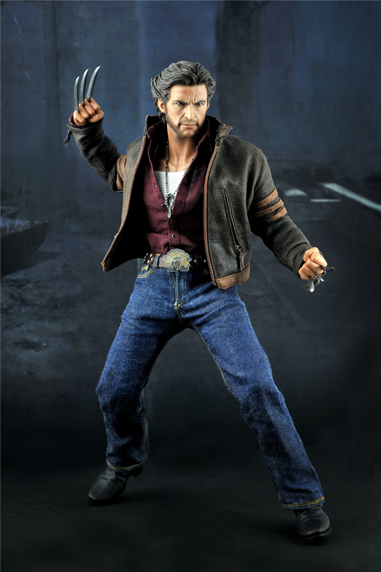 1/6 scale figure doll X-MAN Wolverine Hugh Jackman 12 action figure doll Collectible figure Plastic Model Toys .NO BOX 1 6 scale figure doll black detective 12 action figure doll collectible figure plastic model toys no box