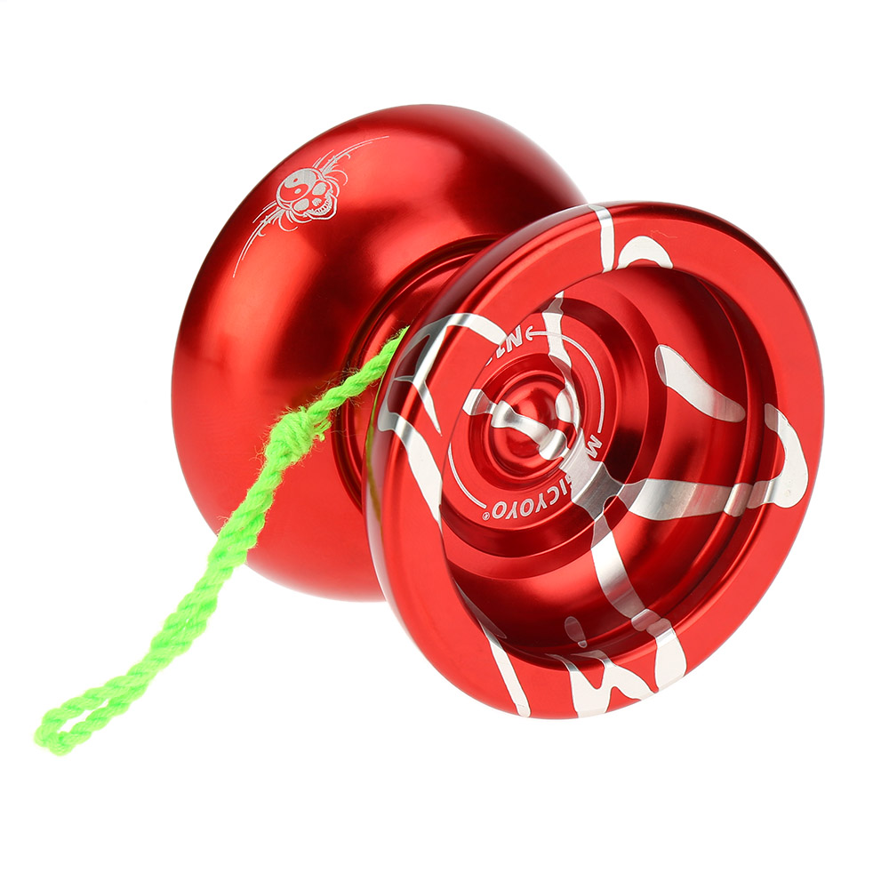 Toys & Hobbies Self-Conscious High Quality Yoyo Professional Magic Yoyo N11 Aluminum Alloy Metal Yoyo 8 Ball Kk Bearing With Spinning String Kids Toys Classic Toys